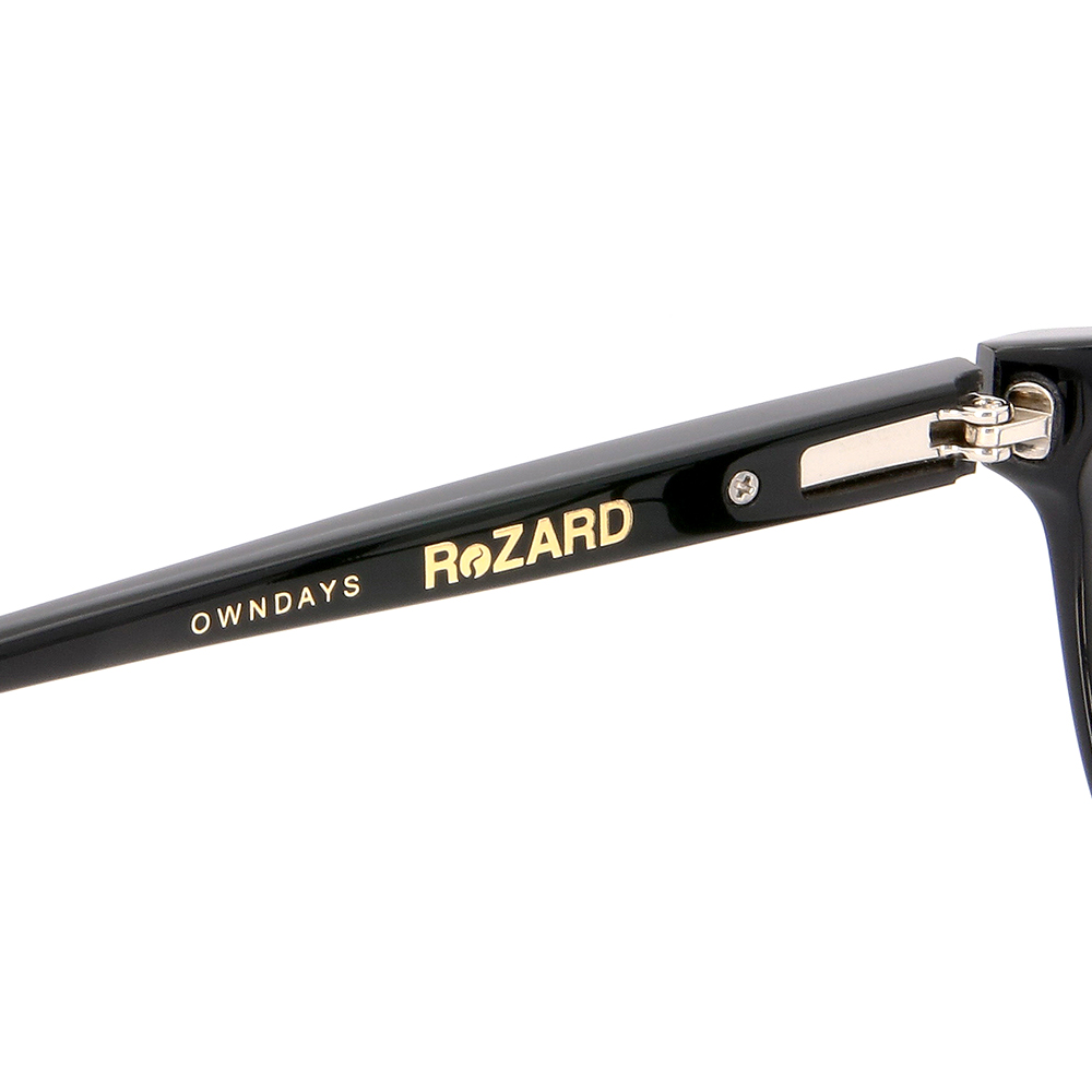 【OWNDAYS x ReZARD】RZ2002T-1S(ブラック)