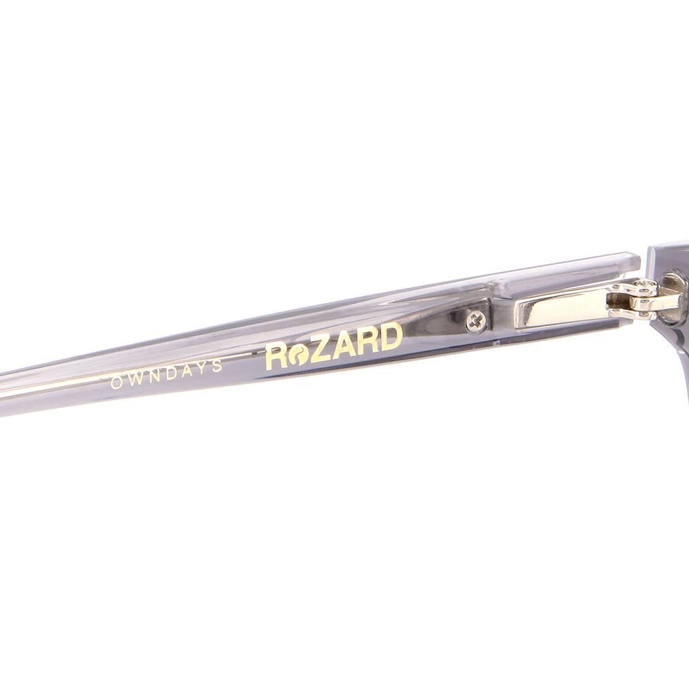 【OWNDAYS x ReZARD】RZ2003T-1S(クリアグレー)