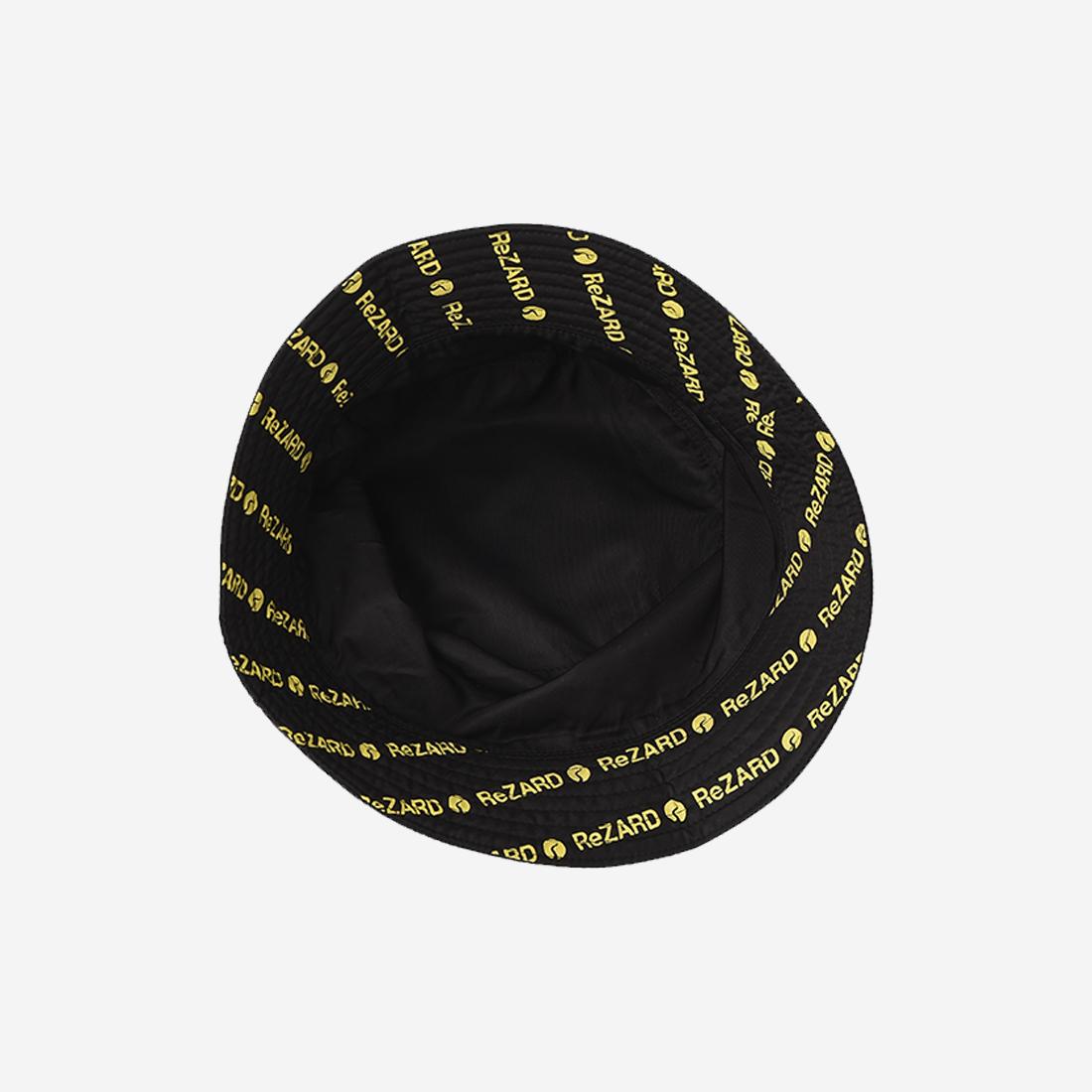【ReZARD】Logo Bucket Hat