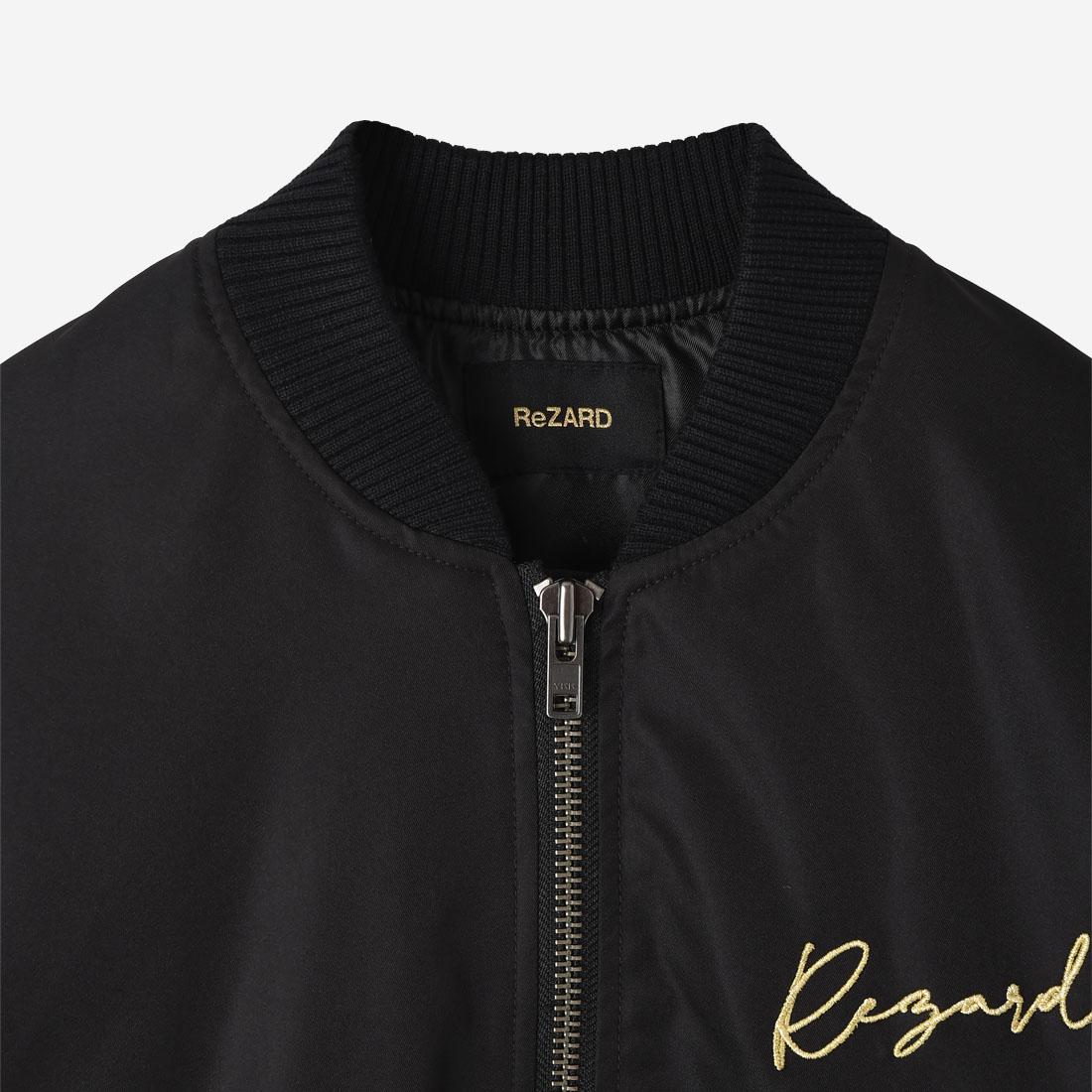 【ReZARD】Logo Embroidery MA-1