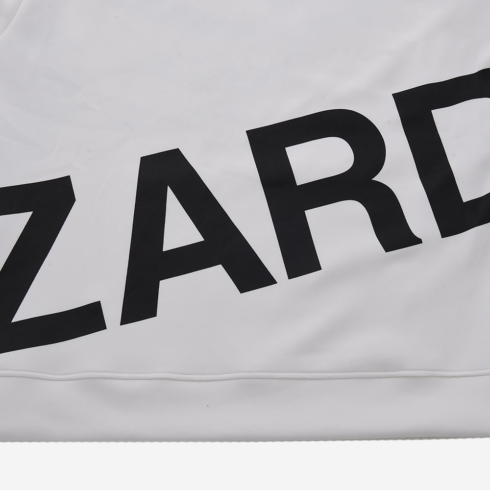 【ReZARD】Big logo Hoodie(White)