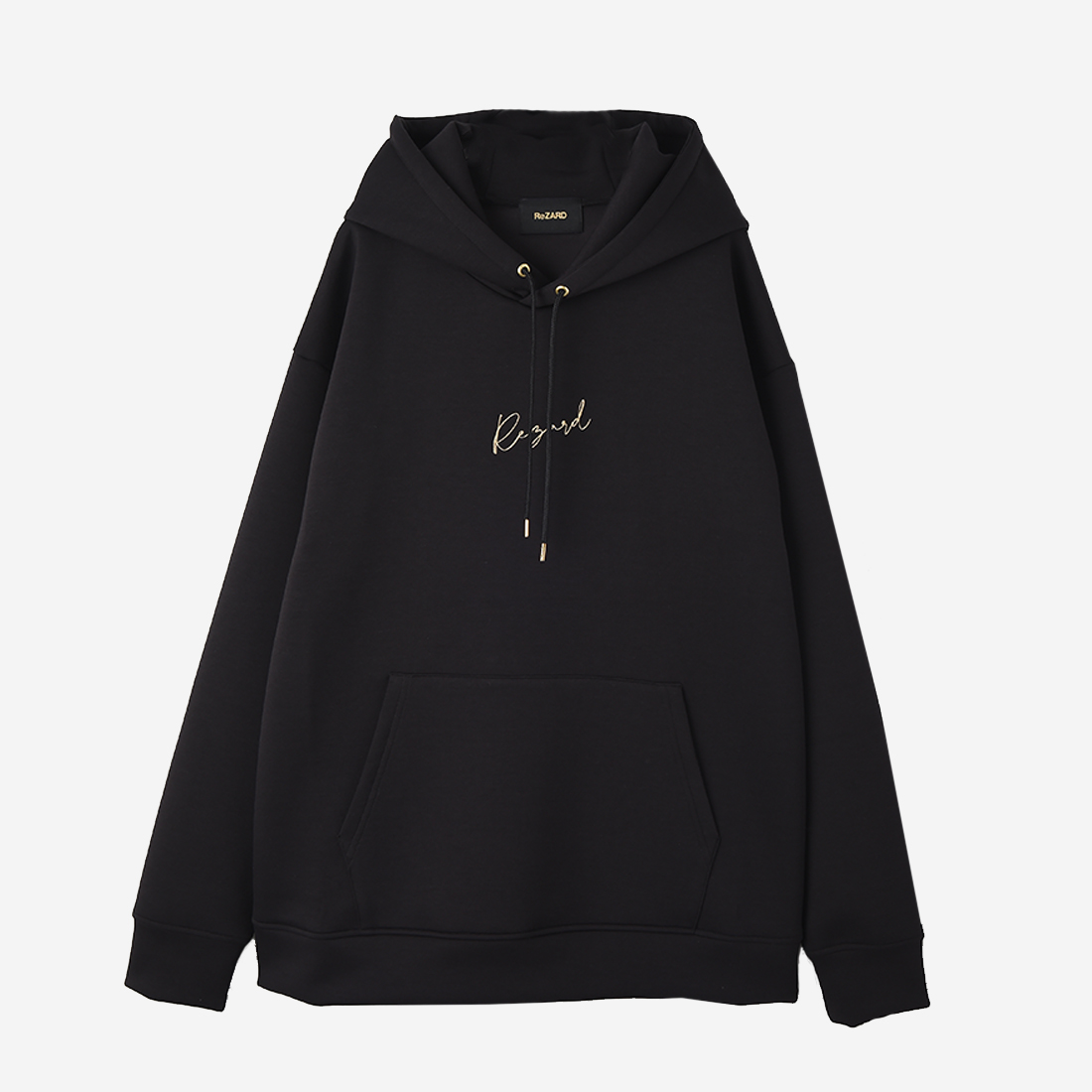 【ReZARD】Logo Embroidery Hoodie