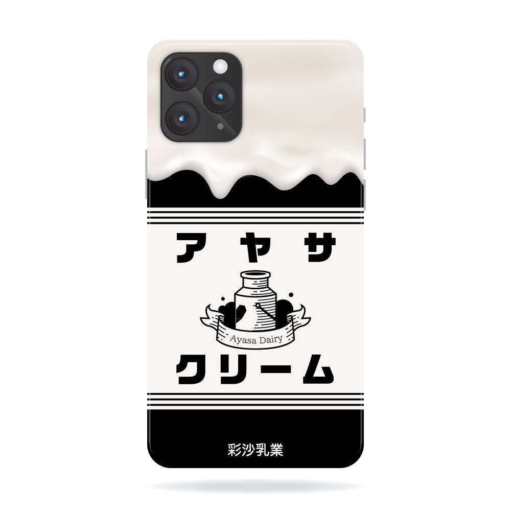 【Ayasashop】彩沙店長オリジナルiPhoneケース 第2弾(ブラック)