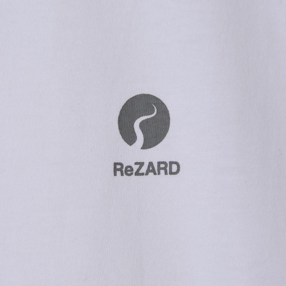 【ReZARD】Chest Tail Logo V-neck Tee