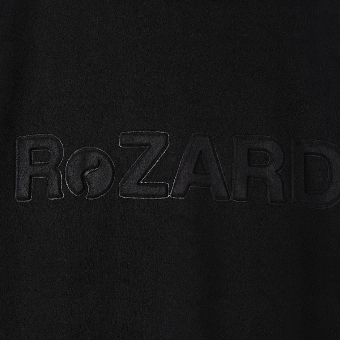 【ReZARD】Eco Suede Logo Hoodie