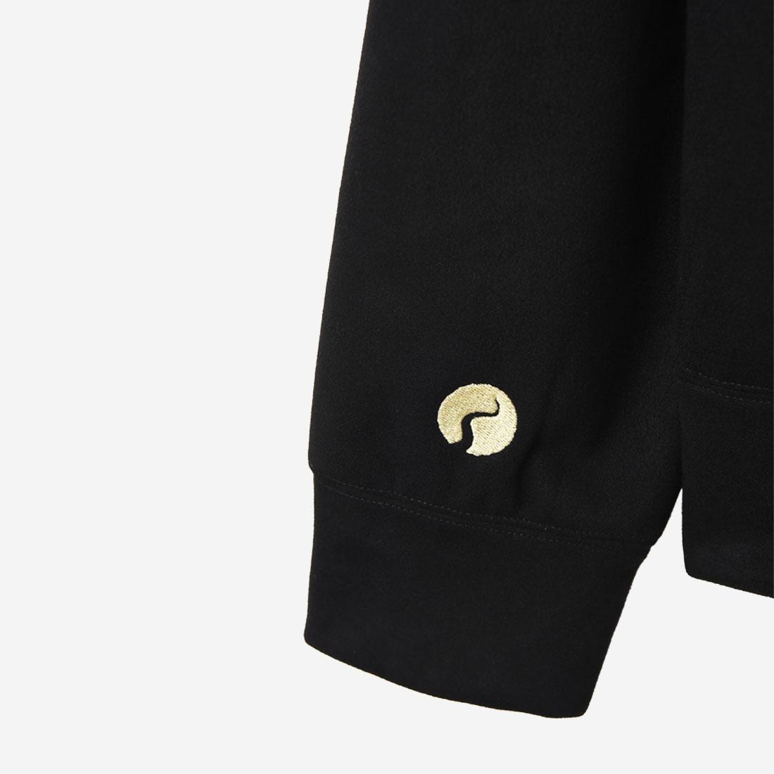 【ReZARD】Eco Suede Tail Logo Hoodie