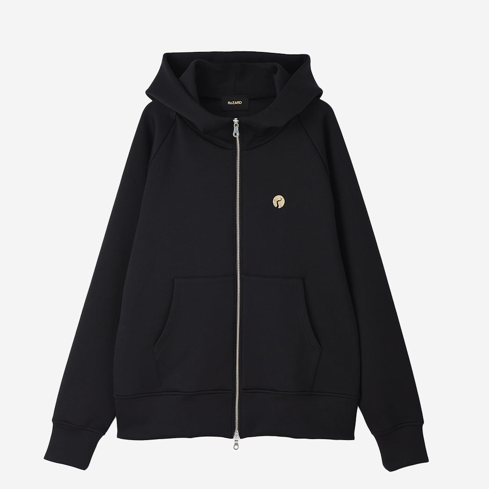 【ReZARD】Tail Logo Zip-up Hoodie