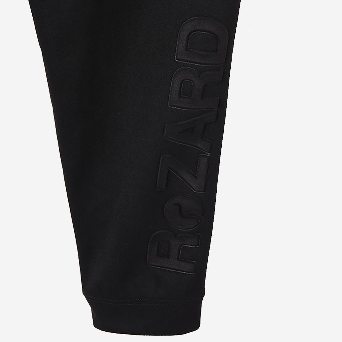 【ReZARD】Eco Suede Logo Pants