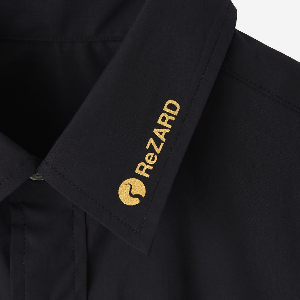 【ReZARD】Collar Logo Shirts