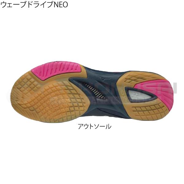 【超特価】ウェーブドライブNEO ネイビー×ホワイト×ピンク(14)