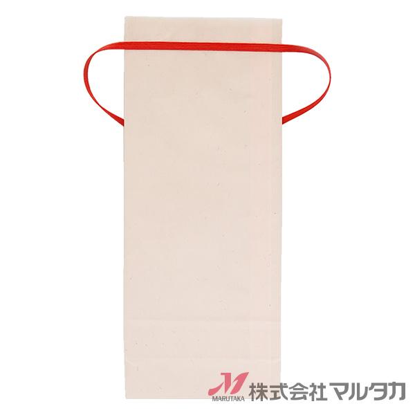 紐付クラフト 1〜1.5kg用 無地 1ケース(300枚入) KH-0870 カラークラフト さくら 窓あり