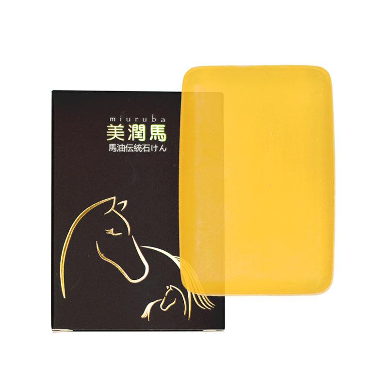 美潤馬 馬油伝統石けん(洗顔石けん) 120g