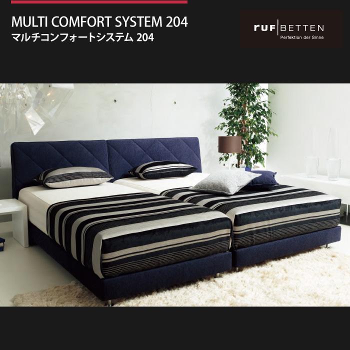RUF ルフ MULTI COMFORT SYSTEM204 マルチコンフォートシステム204 ファブリックベッドフレーム
