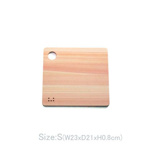 小泉誠デザイン 土佐ひのきのまな板 S/M/L