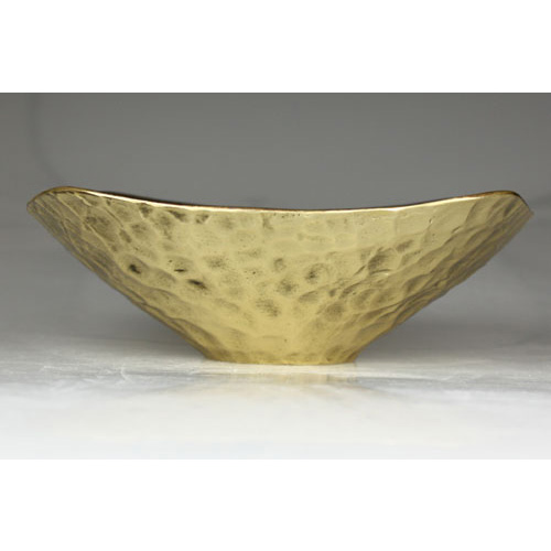 flower bowl 大・小 真鍮 花器 モメンタムファクトリー・Orii(momentum factory Orii) 高岡銅器