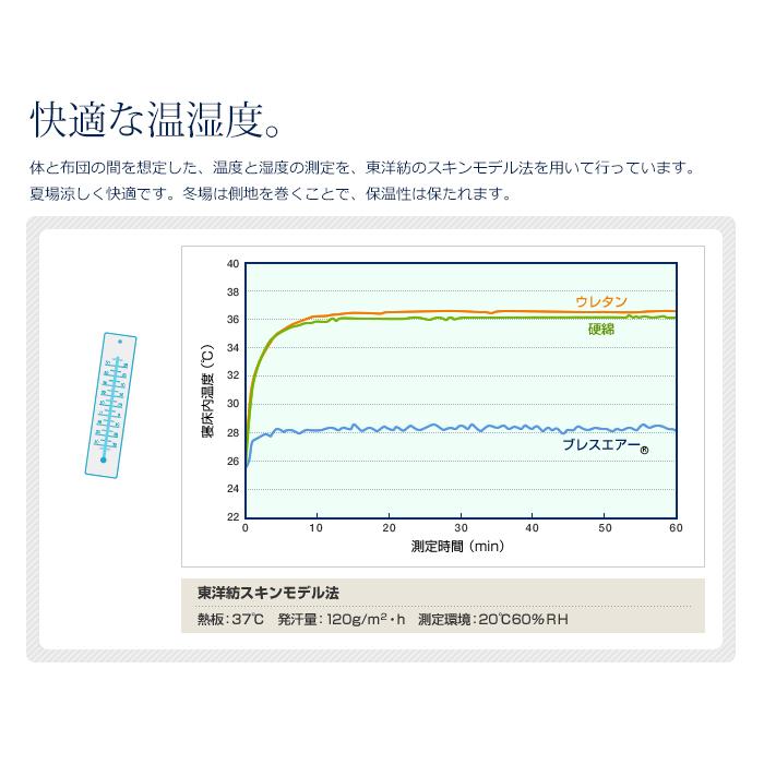 フランスベッド×東洋紡 RH-BAE-DLX ブレスエアー エクストラ デラックス ボディコンディショニングマットレス 日本製