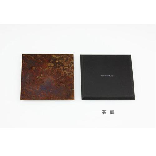copper coaster 2枚組/5枚組(5色セット) コースター モメンタムファクトリー・Orii(momentum factory Orii) 高岡銅器