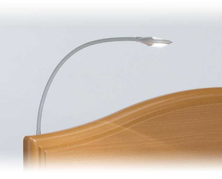 フランスベッド 電動リクライニングベッドオプション アーム付LED読書灯 N13