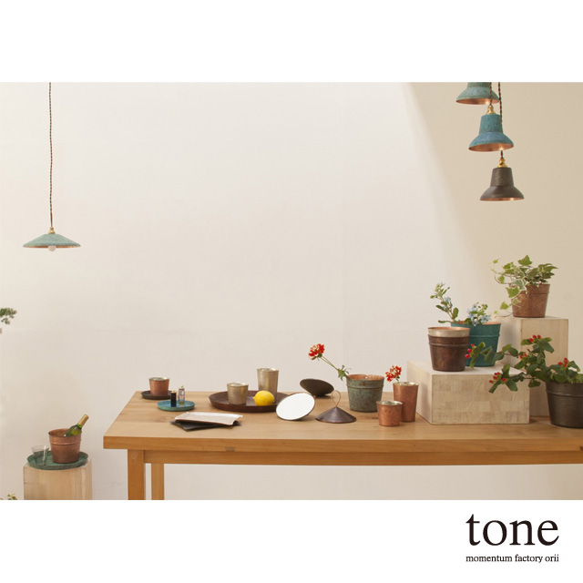 tone_mirror ミラー 鏡 モメンタムファクトリー・Orii(momentum factory Orii) 高岡銅器