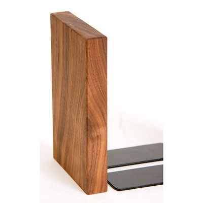 PLAM ブックエンド2 オーク/ウォルナット 小さな無垢の木 幸せインテリア HIDAKAGU