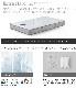 SIMMONS ビューティレスト セレクション 5.5インチ エクストラハードマットレス シングル/セミダブル/ダブル/クイーン 2017年モデル AB1721A