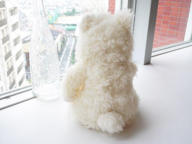 もさもさくまさん(アイボリー・M) Hug collection  シナダ製  プレゼントにも