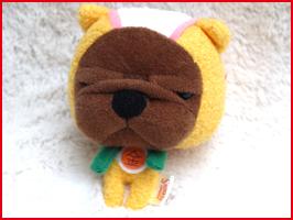 スーパーなぎおマン マネーイエロー ストラップ シナダの人気ブサカワ子犬キャラ、まさかのヒーローコスプレ・ブルドッグ  ぬいぐるみ グッズ 雑貨 ストラップ(かわいい おもしろ 誕生日プレゼント 彼女 女性 女友達に)