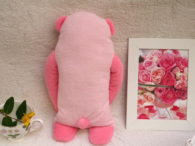 フモフモさん ぱんな(pink3・L)ピンク 可愛い癒しのぬいぐるみ シナダ製 GReeeeNのPVにも登場 (かわいい おもしろ ぬいぐるみ グッズ ★ 誕生日プレゼント ギフト 贈り物 に! 彼女 女性 女の子 女友達 プレゼント に最適)