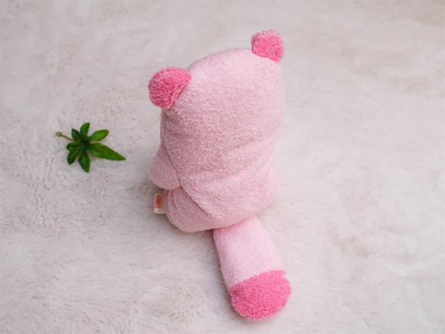 フモフモさん ぽぽた  ピンク M