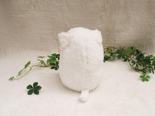 baby nature ベィビーナチュレ ねこ(ホワイト・M) 可愛い動物の赤ちゃんたちのぬいぐるみ ベイビーナチュレ シナダ製  プレゼントにも   一生に一度、誰でも記憶に残るぬいぐるみとの出会いがある プレゼント ギフト