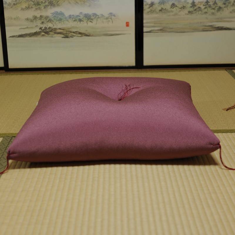 座布団 丹後ちりめん 薄紫(うすむらさき)