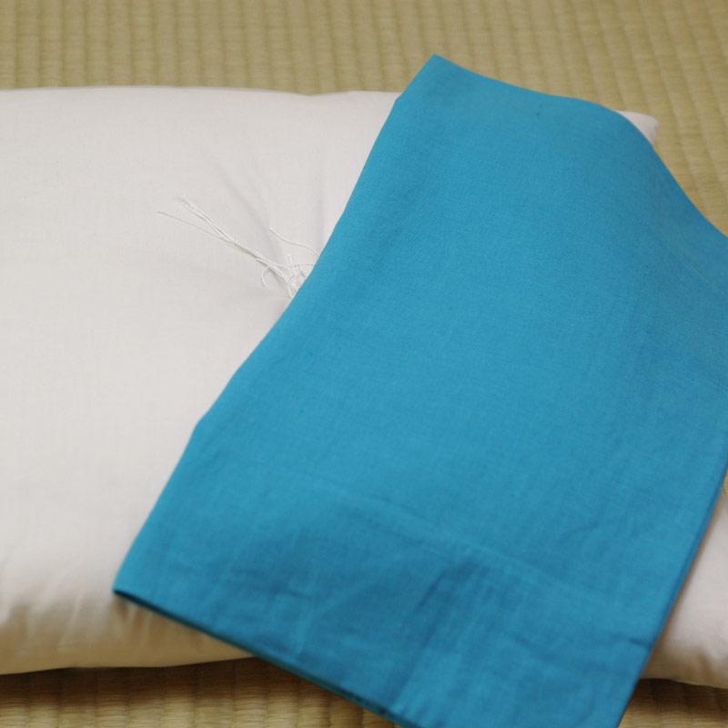 座布団カバー 本麻 緑青(りょくしょう)
