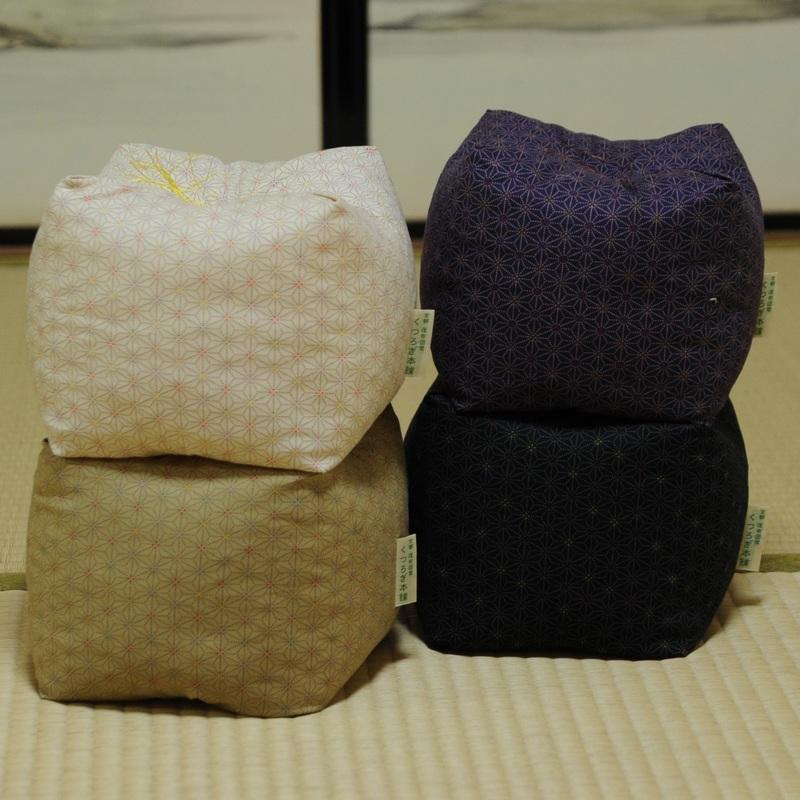 KAKU座 角(かく) あさもよう 黒色(くろいろ)