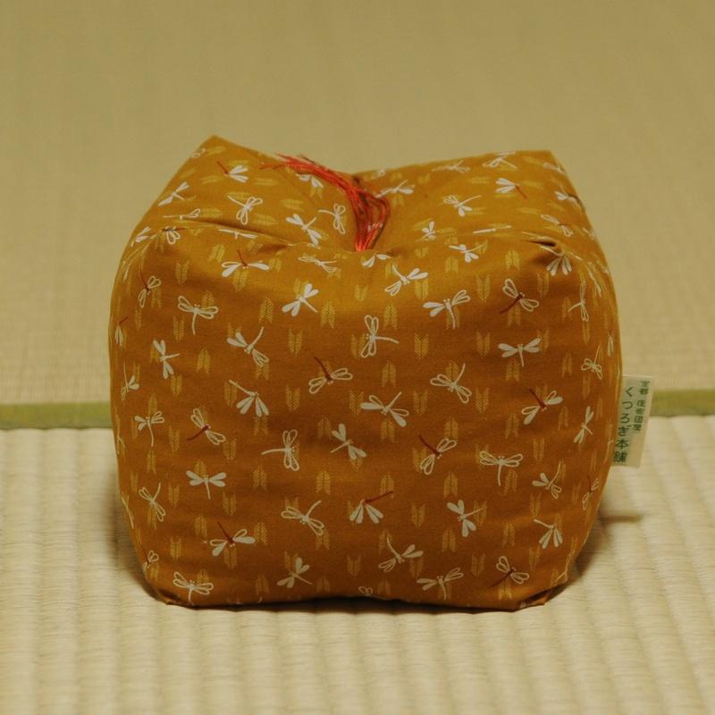 KAKU座 角(かく) とんぼ 黄蘗色(きはだいろ)