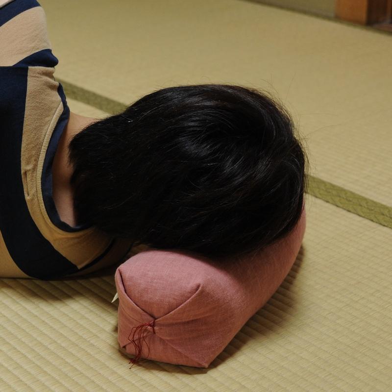 KAKU座 俵(たわら) むら染古都もめん 栗茶色(くりちゃいろ)
