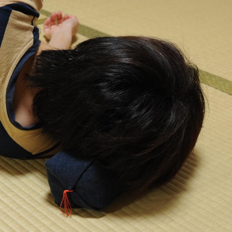 KAKU座 俵(たわら) むら染古都もめん 香色(こういろ)