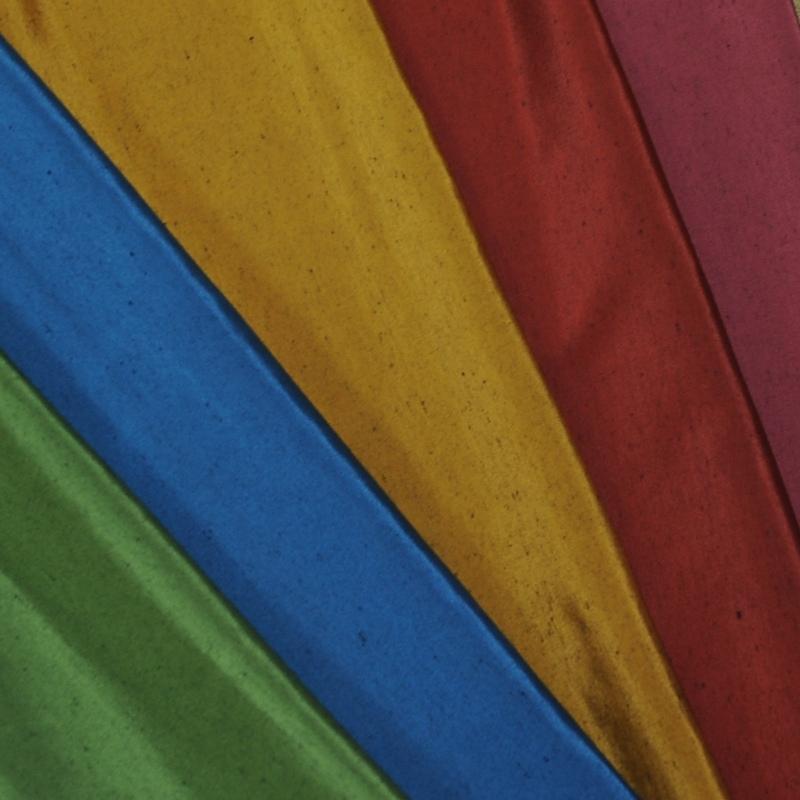 座布団 先染め織物『紬カラー』 臙脂色(えんじいろ)