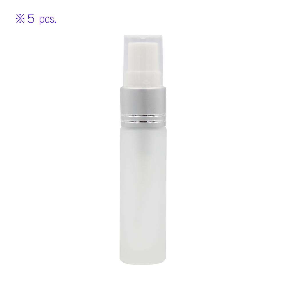 【アルコール対応】 10 ml スプレー式 ガラス ボトル (5本セット)