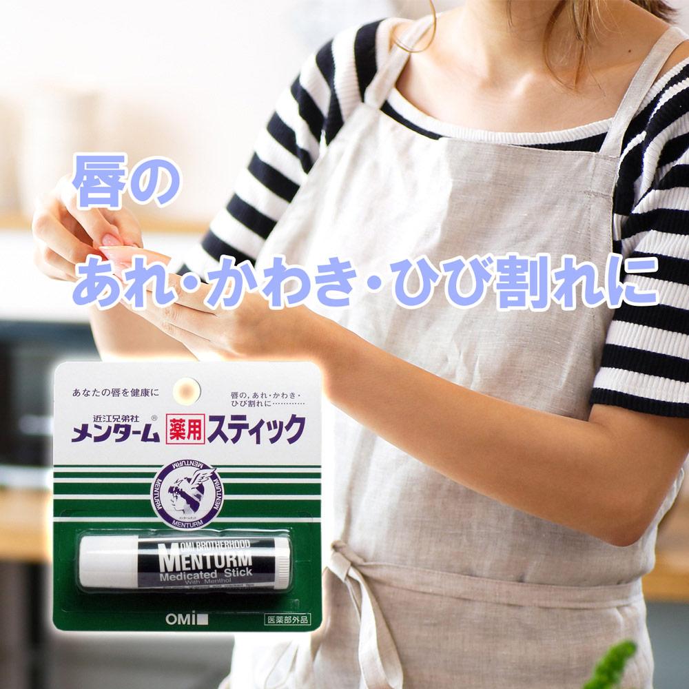 メンターム薬用スティック リップクリーム レギュラータイプ (4g)