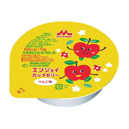 エンジョイカップゼリー いろどりセット (8種類✕各3個入)
