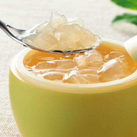 二十世紀梨ゼリー感動です。&白桃デザート詰合せ
