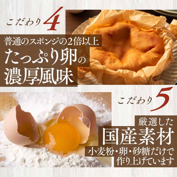 半熟カステラ(プレーン)(4号/直径約12cm) 【送料無料】