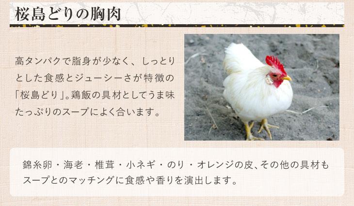 奄美の里 鶏飯 1人前2杯分