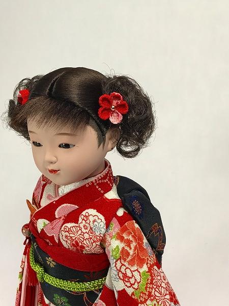 8号 特選友禅 市松人形