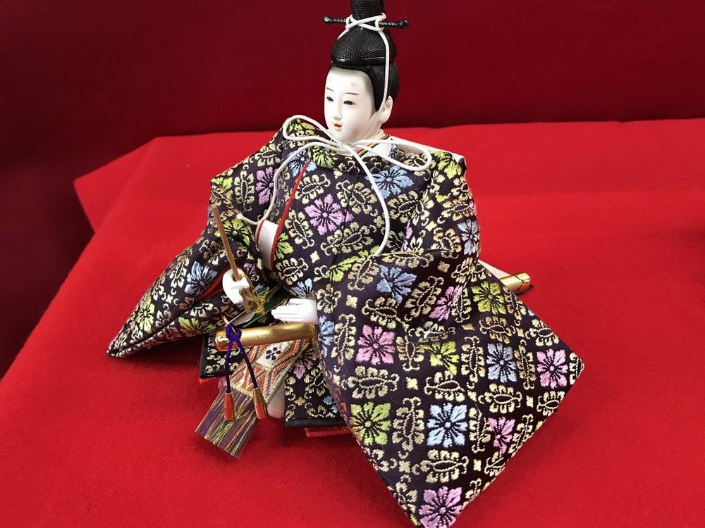 十二番親王<BR>オリジナル桐収納飾り