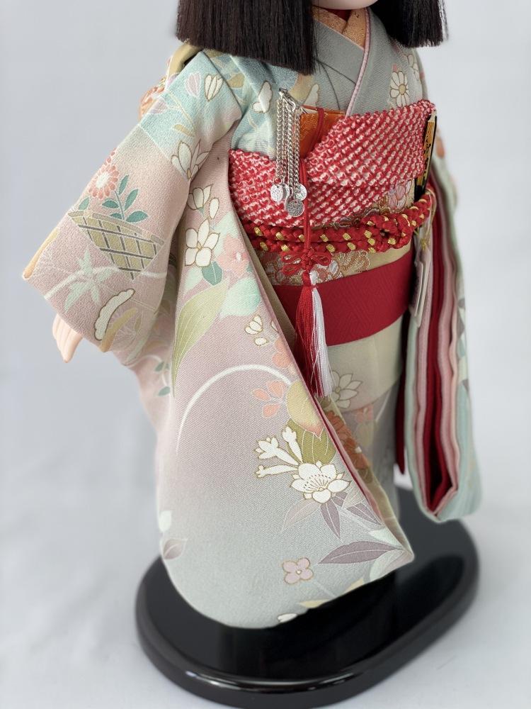 10号 正絹京友禅 市松人形(限定品)