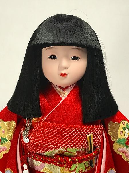 12号 金彩京友禅 市松人形