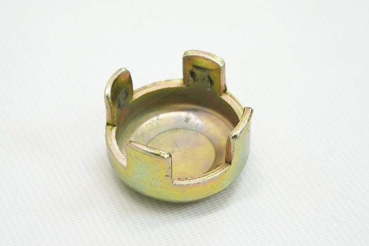 単管 打ち込み ヘッド Φ48.6mm単管用 (10個 セット) 打ち込み座金 単管パイプ用資材 キャップ KIKAIYA