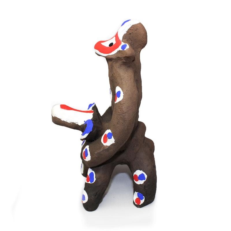木葉猿 馬乗猿(A)【木葉猿窯元】