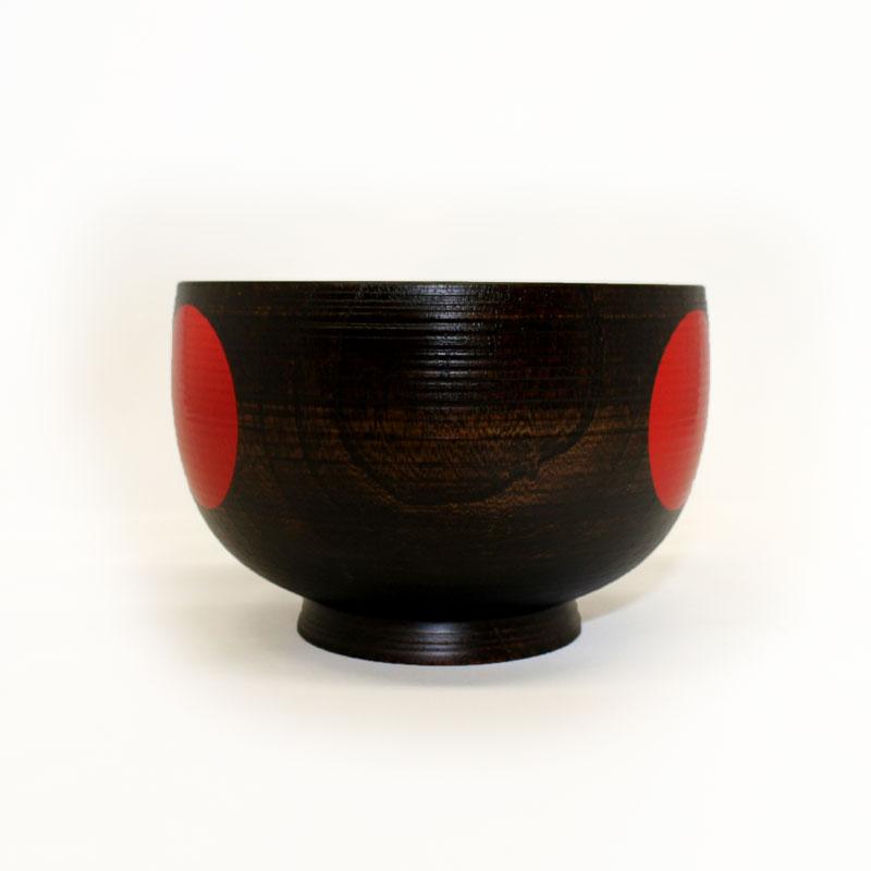 椀だふるくまモン(大)【目白漆芸文化財研究所】